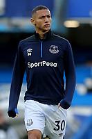 Richarlison of Everton pre-match during Chelsea vs Everton, Premier League Football at Stamford Bridge on 11th November 2018