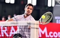 19th July 20202; Berlin Tempelhof, Berlin, Germany;  Bet1aces tennis tournament; Mischa Zverev GER versus Roberto Bautista Agut ES