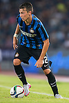 Baldini Enrico of FC Internazionale Milano in action during the AC Milan vs FC Internazionale Milano as part of the International Champions Cup 2015 at the Longgang Stadium on 25 July 2015 in Shenzhen, China. Photo by Aitor Alcalde / Power Sport Images