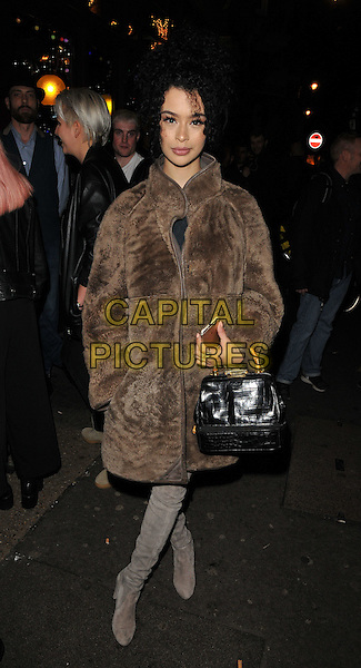 Rainy Milo attends the Notion magazine issue 71 launch party, Lights of Soho, Brewer Street, London, UK, on Friday 18 December 2015.<br /> CAP/CAN<br /> &copy;Can Nguyen/Capital Pictures