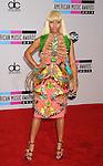 LOS ANGELES, CA. - November 21: Nicki Minaj arrives at the 2010 American Music Awards held at Nokia Theatre L.A. Live on November 21, 2010 in Los Angeles, California.