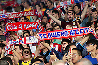 Atletico de Madrid's supporters during Champions League 2017/2018, Group C, match 2. September 27,2017. (ALTERPHOTOS/Acero)<br /> Champions League 2017/2018 <br /> Atletico Madrid - Chelsea <br /> Foto Alterphotos / Insidefoto