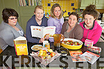 FOOD FACTS: Participants in the Low GL for Life course with nutritionist Erina MacSweeney in Milltown last weekend, l-r: Julie Gill, Caragh Kelly, Lorraine MacSweeney, Erina MacSweeney, Niamh MacSweeney.