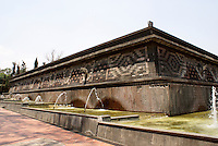 The Fuente de Xochipilli in the Second Section of Chapultepec Park, Mexico City