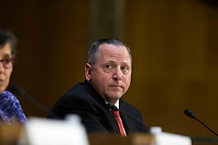 Todd Wilkinson, President and Chief Executive Officer of Entrust Datacard Corporation, during a hearing entitled 'Protecting Consumers in the Era of Major Data Breaches' before the Senate Commerce, Science, and Transportation Committee on Capitol Hill in Washington, D.C. on November 8th, 2017. <br /> Credit: Alex Edelman / CNP /MediaPunch