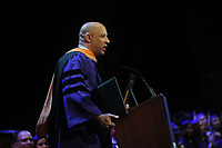 NEW YORK, NY - MAY 30: Actor and producer Vin Diesel receives the Honorary Doctor of Humane Letters and delivers the commencement address on May 30, 2018 in New York City, USA.<br /> CAP/MPI22<br /> &copy;MPI22/Capital Pictures