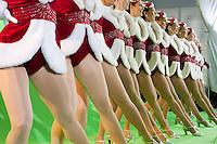 Radio City Rockettes Christmas Spectacular rehearsal