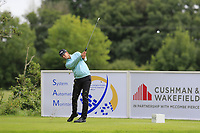 Victor Perez (FRA) tees off the 4th tee during Sunday's Final Round of the Northern Ireland Open 2018 presented by Modest Golf held at Galgorm Castle Golf Club, Ballymena, Northern Ireland. 19th August 2018.<br /> Picture: Eoin Clarke | Golffile<br /> <br /> <br /> All photos usage must carry mandatory copyright credit (&copy; Golffile | Eoin Clarke)