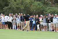 Sungjae Im (International) on the 10th fairway during the First Round - Four Ball of the Presidents Cup 2019, Royal Melbourne Golf Club, Melbourne, Victoria, Australia. 12/12/2019.<br /> Picture Thos Caffrey / Golffile.ie<br /> <br /> All photo usage must carry mandatory copyright credit (© Golffile | Thos Caffrey)