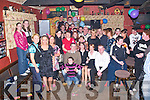 18TH CELEBRATIONS: Amy O'Rourke, Ballincrossig, Causeway, (seated centre - black top), celebrated her 18th birthday in An Tochar Bar, Kilmoyley, with family and friends on Friday night.   Copyright Kerry's Eye 2008
