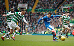 Emerson Hyndman crosses in for Clint Hill's goal