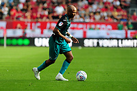 Andre Ayew of Swansea City in action during the Sky Bet Championship match between Bristol City and Swansea City at Ashton Gate in Bristol, England, UK. Saturday 21 September 2019