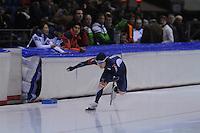 SCHAATSEN: HEERENVEEN: 01-02-2014, IJsstadion Thialf, Olympische testwedstrijd, Tae-Bum Mo, ©foto Martin de Jong
