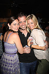One Life To Live Jessica Leccia & hubby Brian & Stephanie Gatschet at the Celebrity Bartending Bash on May 14 at Martini's Upstairs, Marco Island, Florida - SWFL Soapfest Charity Weekend May 14 & !5, 2011 benefitting several children's charities including the Eimerman Center providing educational & outfeach services for children for autism. see www.autismspeaks.org. (Photo by Sue Coflin/Max Photos)