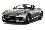 2018 Jaguar F-Type R Dynamic 2 Door Convertible angular front stock photos of front three quarter view