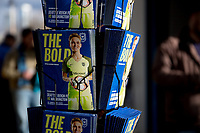 Seattle, WA - Saturday March 24, 2018: game program during a regular season National Women's Soccer League (NWSL) match between the Seattle Reign FC and the Washington Spirit at the UW Medicine Pitch at Memorial Stadium.