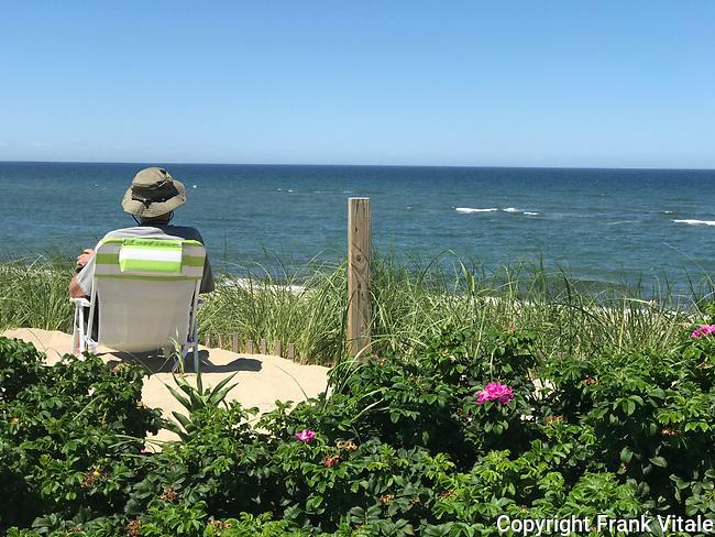 Enjoying Thalassa's  Ocean View
