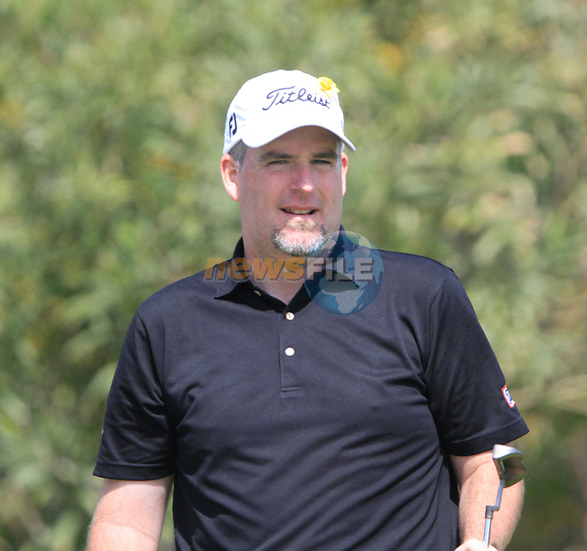 Kenneth Ferrie (ENG) on the 17th green on his way to shooting 11 under par for a score of 60 during Day 3 Saturday of the Open de Andalucia de Golf at Parador Golf Club Malaga 26th March 2011. (Photo Eoin Clarke/Golffile 2011)