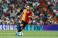 Galatasaray´s Selcuk Inan during Santiago Bernabeu Trophy match at Santiago Bernabeu stadium in Madrid, Spain. August 18, 2015. (ALTERPHOTOS/Victor Blanco)