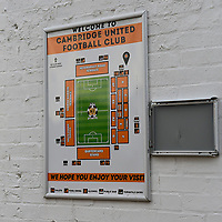 A general view of Abbey Stadium, home of Cambridge United FC<br /> <br /> Photographer Andrew Vaughan/CameraSport<br /> <br /> The EFL Sky Bet League Two - Cambridge United v Lincoln City - Saturday 29th December 2018  - Abbey Stadium - Cambridge<br /> <br /> World Copyright © 2018 CameraSport. All rights reserved. 43 Linden Ave. Countesthorpe. Leicester. England. LE8 5PG - Tel: +44 (0) 116 277 4147 - admin@camerasport.com - www.camerasport.com
