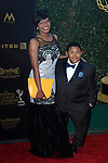 LOS ANGELES - APR 29: Ebonice Atkins, Emmanuel Lewis at The 43rd Daytime Creative Arts Emmy Awards Gala at the Westin Bonaventure Hotel on April 29, 2016 in Los Angeles, California