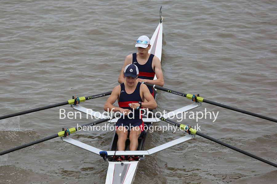 Crew: 162   KCS-TYRRELL-2    Kings College School Boat Club    Op J18 2x Fresher <br /> <br /> Pairs Head 2017<br /> <br /> To purchase this photo, or to see pricing information for Prints and Downloads, click the blue 'Add to Cart' button at the top-right of the page.