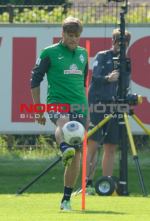 21.08.2013, Trainingsgelaende, Bremen, GER, 1.FBL, Training Werder Bremen, im Bild Clemens Fritz (Bremen #8)<br /> <br /> Foto &copy; nph / Frisch