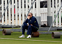 Assistant Kent coach Allan Donald looks on during the friendly game between Kent CCC and Surrey at the St Lawrence Ground, Canterbury, on Friday Apr 6, 2018