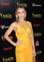 4 January 2019 - West Hollywood, California - Emily Blunt. the 8th AACTA International Awards held at Skybar at Mondrian. Photo Credit: Faye Sadou/AdMedia