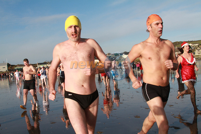 Sea Swim on St Stephens day .Picture Fran Caffrey/newsfile.ie..