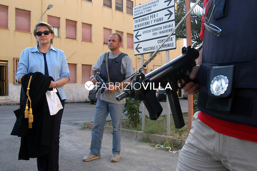 Caterina Chinnici, procuratore della repubblica di Caltanissetta. Foto Fabrizio Villa
