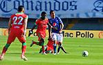 Millonarios igualó 0-0 ante Patriotas. Fecha 15 Liga Águila II-2019.