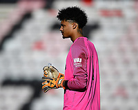 Liverpool keeper Shamal George during AFC Bournemouth Under-21 vs Liverpool Under-21, Premier League Cup Football at the Vitality Stadium on 24th February 2019