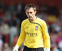 Josh Mimms of York City during the Blue Square Premier match between Stevenage Borough and York City at the Lamex Stadium, Broadhall Way, Stevenage on Saturday 24th April, 2010..© Kevin Coleman 2010 ..