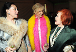 From left: Anna Dean, Dallas Hill and Sylvia Sullivan at the Social Book 2010 launch party at Discovery Green Park Thursday Jan. 21,2010.(Dave Rossman/For the Chronicle)