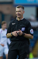 Referee Mark Haywood during the Sky Bet League 2 match between Wycombe Wanderers and Portsmouth at Adams Park, High Wycombe, England on 28 November 2015. Photo by Andy Rowland.