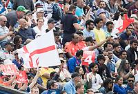 Celebrating an England boundary during Australia vs England, ICC World Cup Semi-Final Cricket at Edgbaston Stadium on 11th July 2019