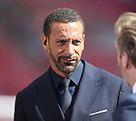 Rio Ferdinand working as a BT Sports pundit during the Emirates FA Cup Final match at Wembley Stadium, London. Picture date: May 27th, 2017.Picture credit should read: David Klein/Sportimage