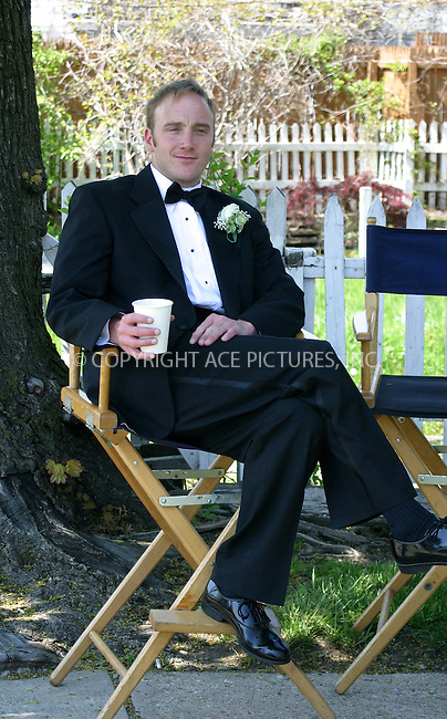 WWW.ACEPIXS.COM . . . . .***EXCLUSIVE!!! FEE MUST BE NEGOTIATED BEFORE USE!!!***....NEW YORK, MAY 10, 2005....Jay Mohr on the set of the new Ed Burns film 'The Groomsmen.'....Please byline: PAUL CUNNINGHAM - ACE PICTURES..... *** ***..Ace Pictures, Inc:  ..Craig Ashby (212) 243-8787..e-mail: picturedesk@acepixs.com..web: http://www.acepixs.com