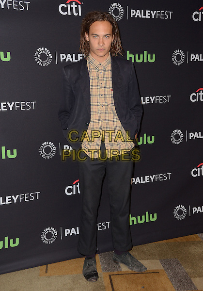 19 March 2016 - Hollywood, California - Frank Dillane. The Paley Center For Media's 33rd Annual PaleyFest Los Angeles - &quot;Fear The Walking Dead&quot; held at Dolby Theater.  <br /> CAP/ADM/BT<br /> &copy;BT/ADM/Capital Pictures