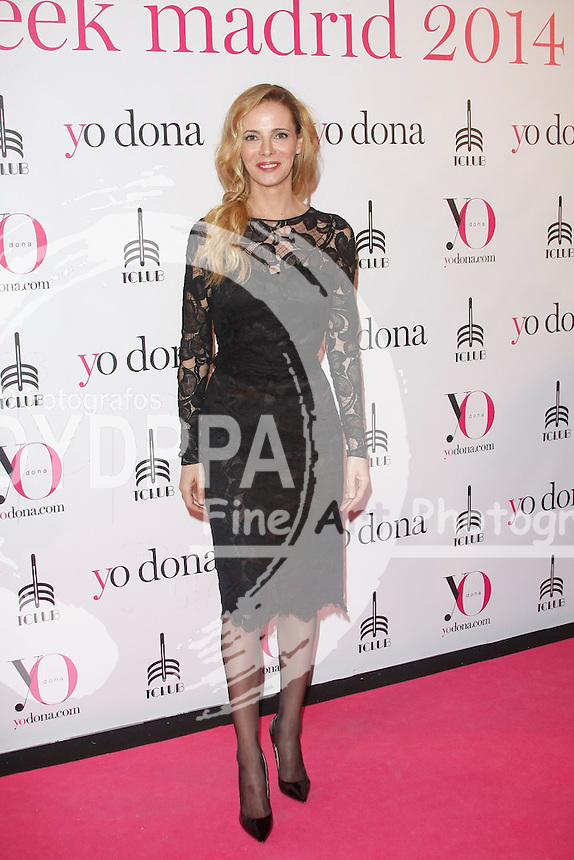 Yo-dona magazine party during the Mercedes Benz Fashion Week Madrid, MBFW at Pacha disco Club in Madrid on February 13, 2014. Photo by Jose Olleros/ DyD Fotografos-DYDPPA.<br /> Paula vazquez