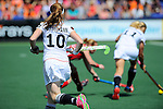 The Hague, Netherlands, June 08: During the first half during the field hockey group match (Women - Group B) between USA and Germany on June 8, 2014 during the World Cup 2014 at GreenFields Stadium in The Hague, Netherlands. Final score 4-1 (1-0) (Photo by Dirk Markgraf / www.265-images.com) *** Local caption *** ?g10+