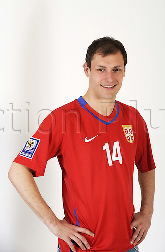 07 04 2010  Milan Jovanovic serbia, FIFA World Cup 2010 Football