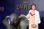Adriana Abenia attends to Dumbo premiere at Principe Pio Theatre in Madrid, Spain. March 27, 2019. (ALTERPHOTOS/A. Perez Meca)