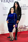 "Alaska and Mario Vaquerizo during the premiere of the spanish film ""Un Monstruo Viene a Verme"" of J.A. Bayona at Teatro Real in Madrid. September 26, 2016. (ALTERPHOTOS/Borja B.Hojas)"