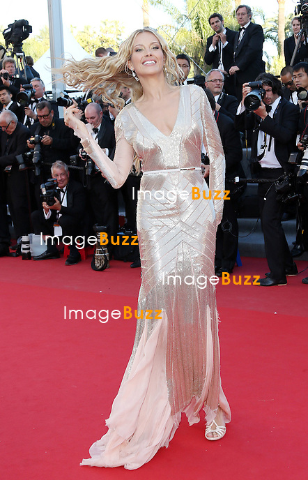 "Petra Nemcova attends the "" Behind The Candelabra' "" premiere during The 66th Annual Cannes Film Festival at The 60th Anniversary Theatre on May 21, 2013 in Cannes, France."