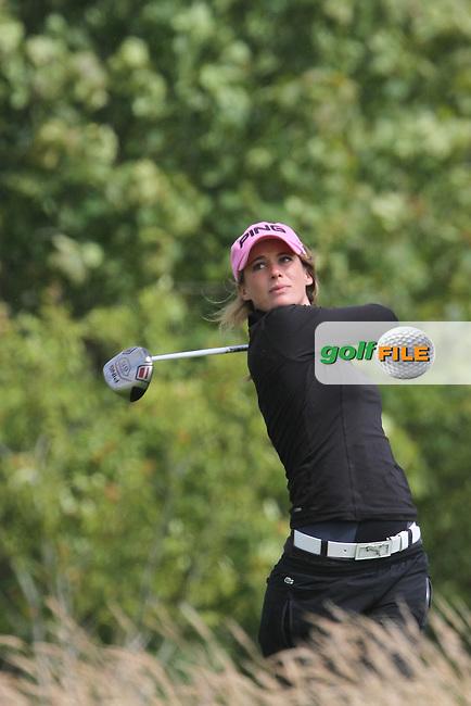 Alexandra Vilatte (FRA) on Day 2 of The 2012 Ladies Irish Open at Killeen Castle, Co.Meath, Ireland, 04/08/12...(Photo Jenny Matthews/www.golffile.ie)