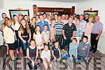 40th Birthday: Steven O'Connor, Liselton , in blue shirt, celebrating his surprise 4oth birthday with family & friends at the Cliff House Hotel, Ballybunion on Saturday night last.