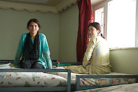 An orphanage for girls being run by the Afghan Child Education and Care Organisation.