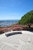 Heritage Park And Compass Plaza Dana Point California